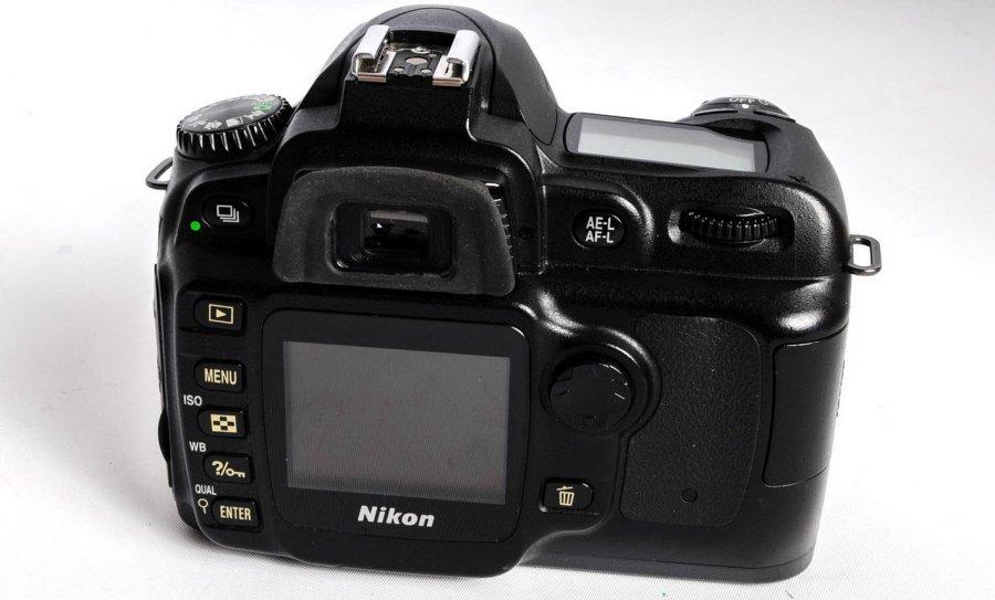 Nikon D50 body (Japan, 2006)