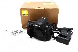 Nikon D800 body в упаковке (пробег 16К)