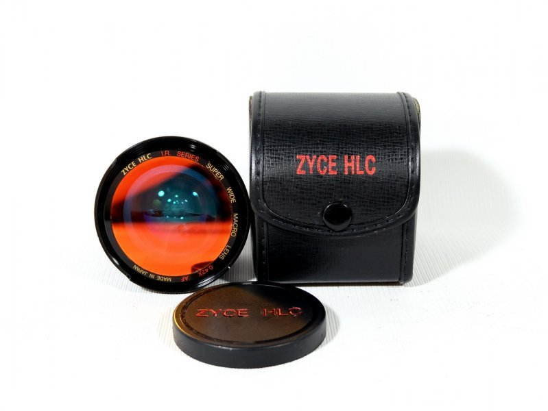 Фишай линза Zyce HLC I.R. Series Super wide macro lens 0.42X AF