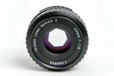 Nikon 50mm f/1.8 Series E (Japan, 1981)