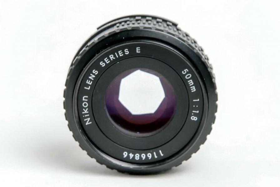 Nikon Lens Series E 1.8/50mm (Japan, 1981)
