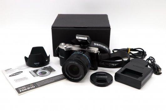 Samsung NX210 kit в упаковке