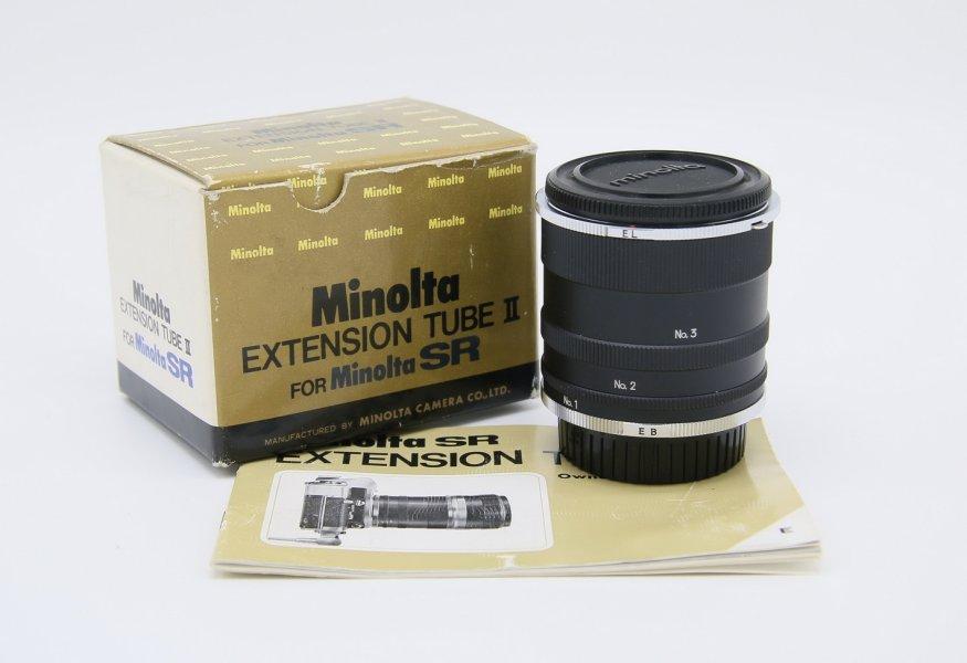 Макрокольца Minolta Extension Tube II (Japan)