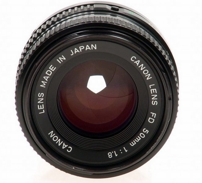 Canon FD 1.8/50mm (Japan, 1976)