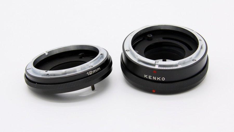 Макрокольца Kenko для Canon FD (Japan)