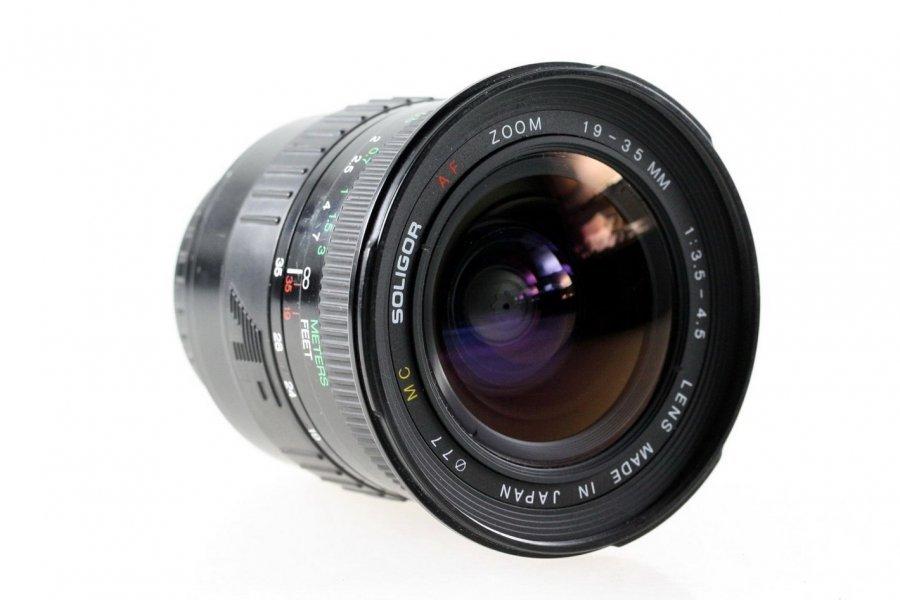 Soligor AF Zoom 3,5-4,5 /19-35mm МС (Japan)