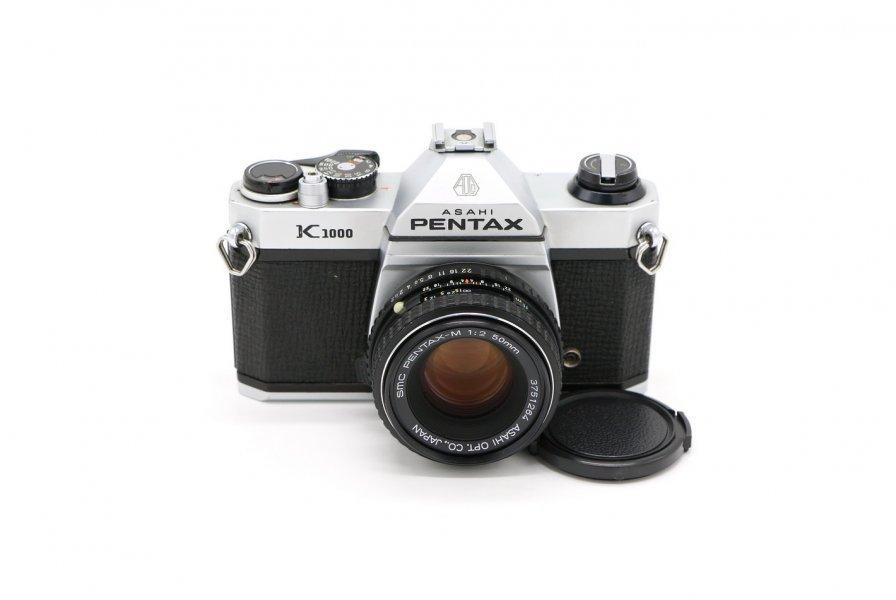 Pentax K1000 kit (Japan, 1978)