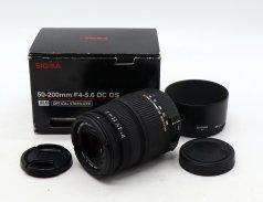 Sigma DC 50-200mm f/4-5.6 OS HSM