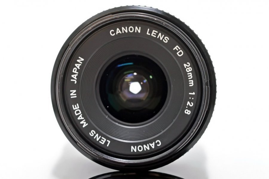 Canon FD 2.8/28mm (Japan, 1979)