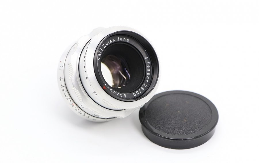 Tessar 2.8/5cm Carl Zeiss Jena (Germany,1962)