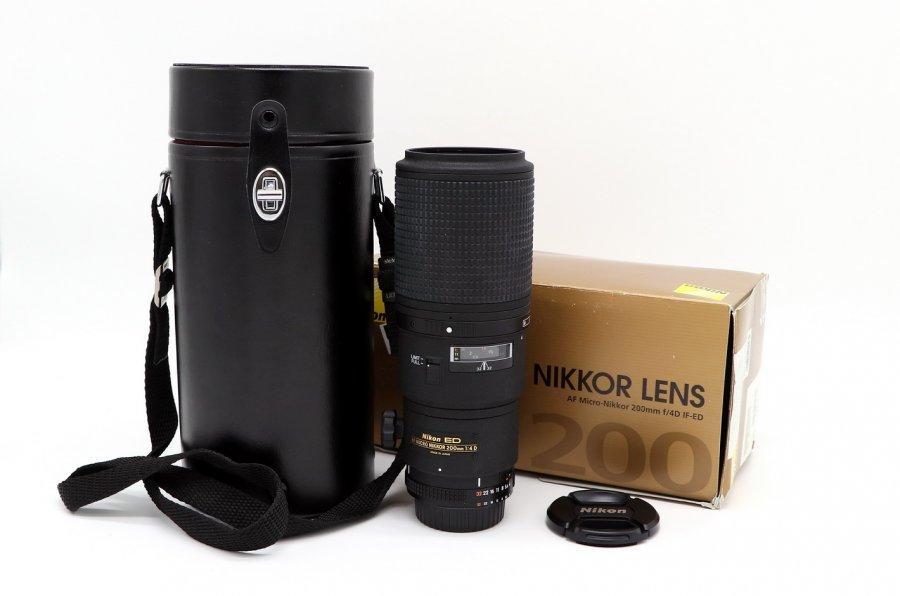 Nikon 200mm f/4D ED-IF AF Micro-Nikkor (новый)