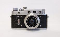 Зоркий 2С + Индустар 50 (КМЗ, 1957 г.)