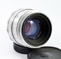 Гелиос 44 silver 2/58mm (1965) для Nikon F / Canon EOS