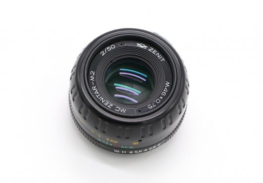 Зенитар М2s 2/50мм для Canon EOS