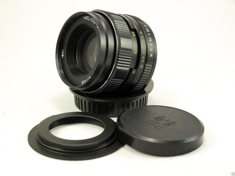 Гелиос 44М-4 f2 58mm для Nikon (с бесконечностью)
