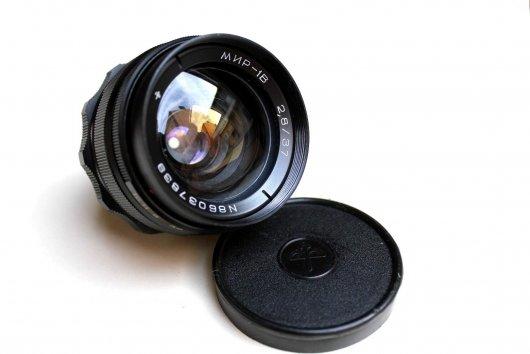 Ширик Мир-1В 2.8/37 для Canon EOS