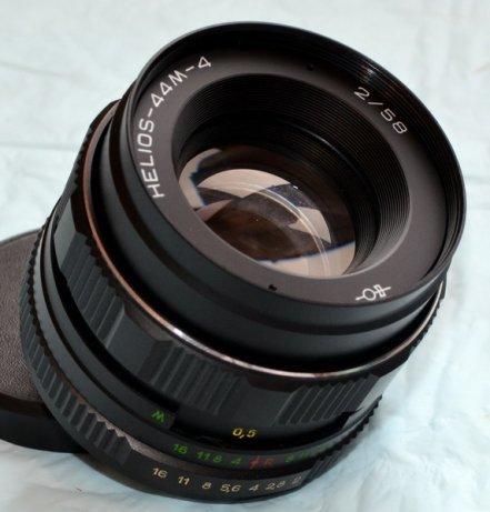 Новье Гелиос 44М-4 для Canon EOS