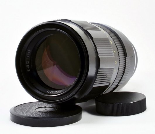 Юпитер 21М 4/200mm для Canon EOS (вомз, 1983г. в.)
