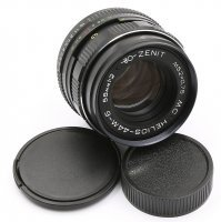 Новый MC Гелиос-44М-6 f2/58mm для Canon EOS