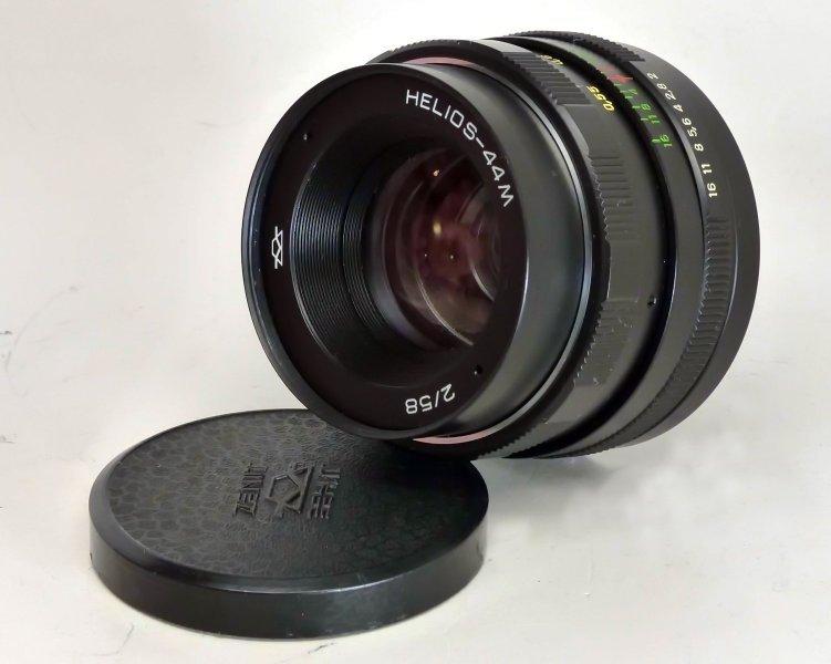 Гелиос 44М 2/58 КМЗ для Nikon (СССР, 1984 г.)