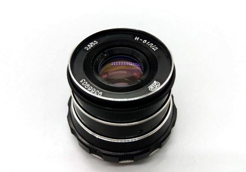 Индустар-61Л/Д 2,8/53 для Olympus, Panasonic