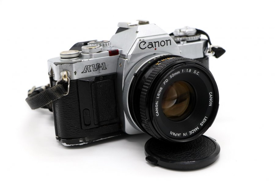 Canon AV-1 kit