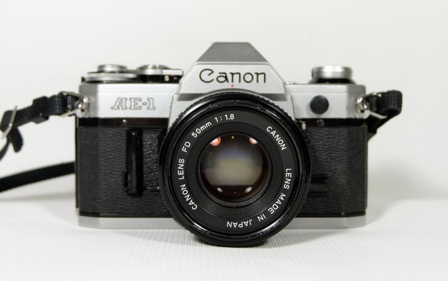 Canon AE-1 (Japan, 1979)