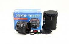 Зенитар-С МС / MC Zenitar-C 2,8/16 Canon Fish-eye новый