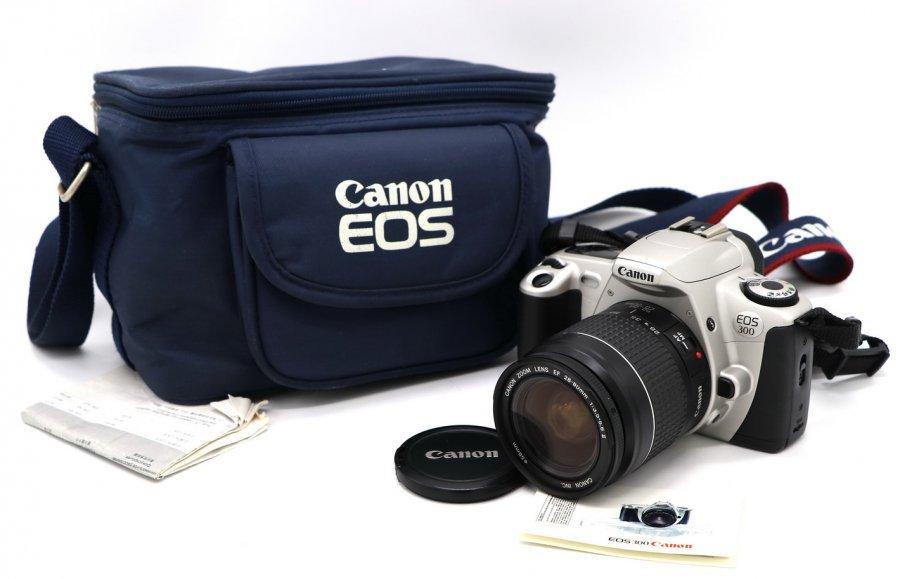 Canon EOS 300 kit в упаковке