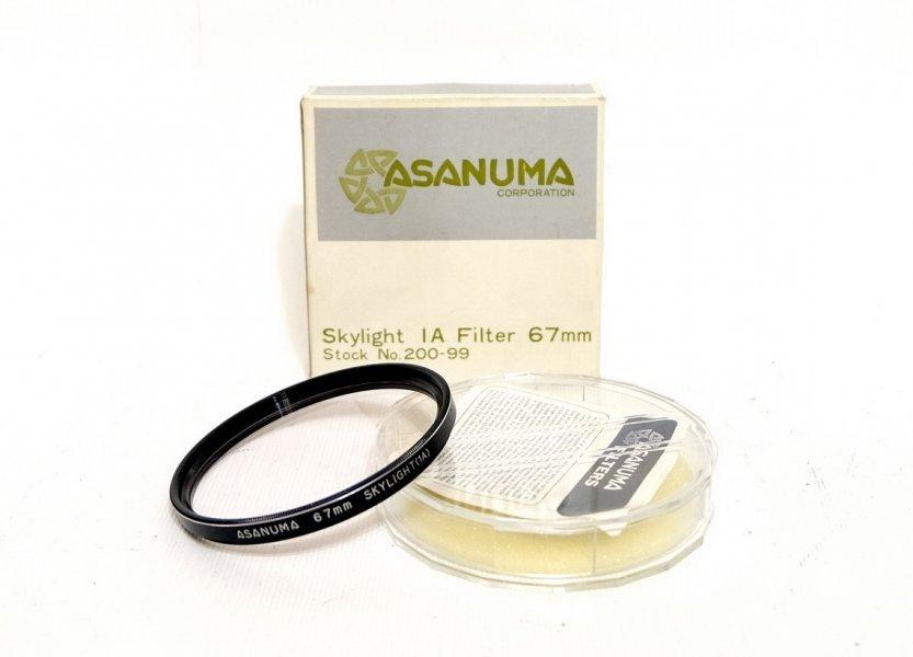 Cветофильтр Asanuma 67mm Skylight (1A) - Japan