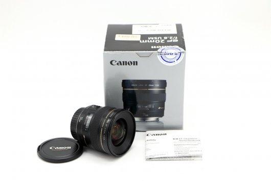 Canon EF 20mm f/2.8 USM в упаковке