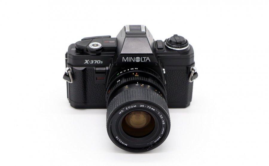 Minolta X-370s kit (Japan, 1991)
