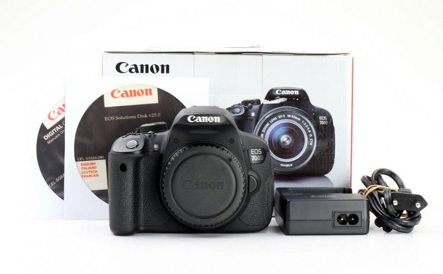 Canon EOS 700D body (пробег 5K кадров)