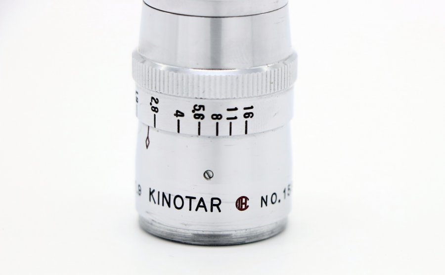 Kinotar 6mm f/1.9 Wide Angle 8mm cine D-mount