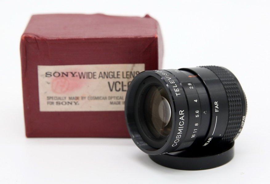 Cosmicar Television lens 1.8/50mm