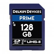 Флеш Карта Delkin Devices Prime SDXC 128GB 1900X UHS-II Class 10 V60