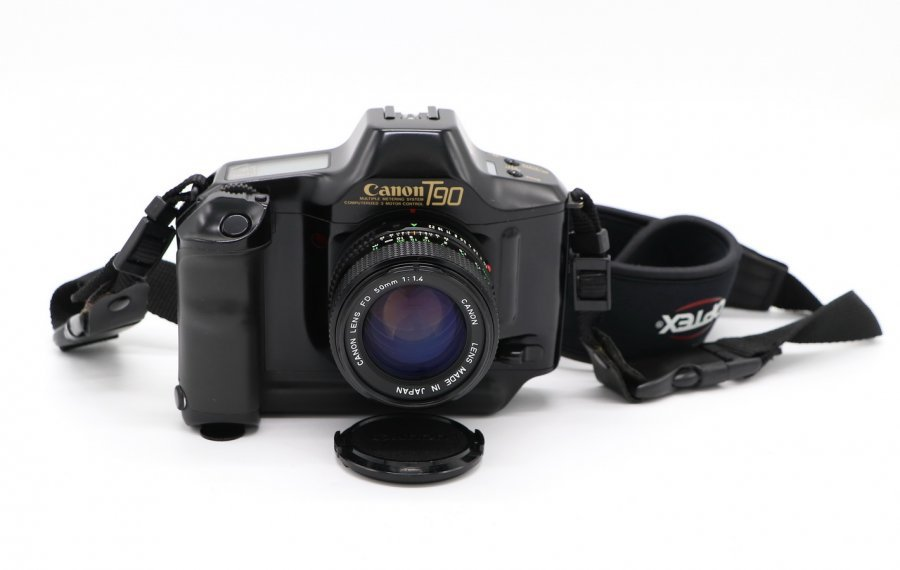 Canon T90 kit (Japan, 1986)